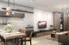 Apartment living modern 3D Model