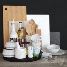 Decorative set for kitchen / Kitchen set                                      3D Model