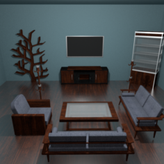Living Room Package 3D Model