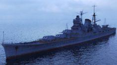 Japanese cruiser Mogami 3D Model