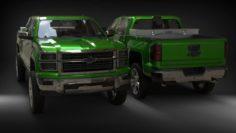 Chevrolet Silverado 2015 3D Model