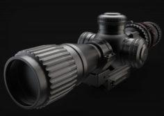 Sniper scope Free 3D Model