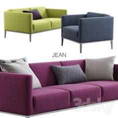 B & B Italia / Jean                                      3D Model