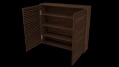 Closet VR – AR – low-poly 3D Model