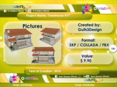 Townhouse 17 3D Model