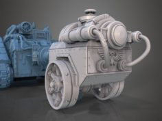 Malcador Infernus trailer Free 3D Model