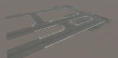 Road tiles 3D Model