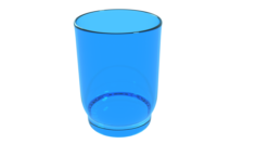 COLLECTION OF GLASSES 3D Model