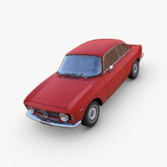Alfa Romeo GTA 3D Model