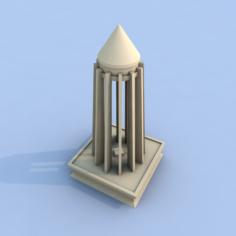Ibn sina temple 3D Model