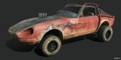 Datsun 240Z (Flamegamer) 3D Model