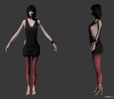 Dancer 3 3D Model