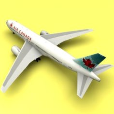 Boeing 767 Air Canada 3D Model