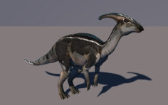 Parasaurolophus – 6 animation 3D Model