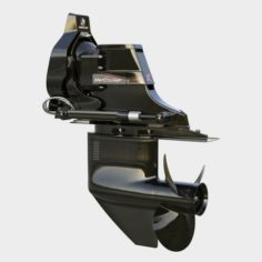 Outdrive Mercruiser bravo two 3D Model