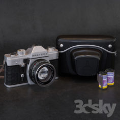 "Praktica MTL-3 ""For the competition""                                      3D Model"