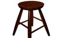 Bar stool High poly made in blender 3D 3D Model