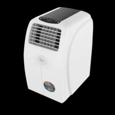 SUPER GENERAL PORTABLE AC WHITE 3D Model