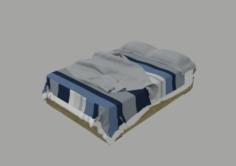 Modern Bed Class Code 3D Model