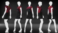 Marvelous Designer Free Garment – Casual Star Free 3D Model