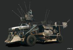 Custom Made (The Land Move) 3D Model