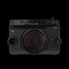 OM4560 X BOOM PORTABLE SPEAKER BLACK 3D Model