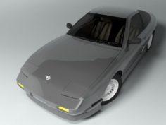 Nissan 180SX 3D Model