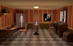Magician room 3D Model