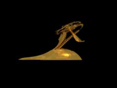 A souvenir of an Unidentified flying object 3D Model
