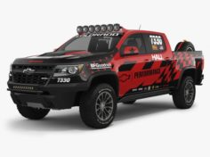 Chevrolet Colorado ZR2 2018 Racing 3D Model