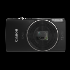 Canon Digicam 202MP Ixus 285 Black 3D Model
