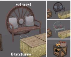 West Set 3D Model