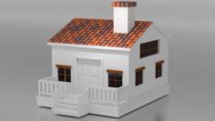3D House Model Free 3D Model
