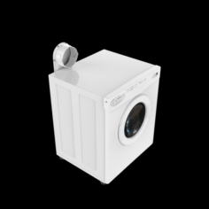 CLOTHES DRYER MAXI 3D Model