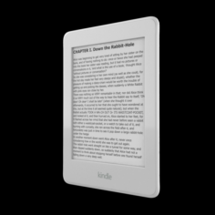 AMAZON KINDLEPAPERWHITEWITH WI FI CONNECTIVITY WHITE 3D Model