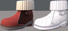 Shoes cartoonV18 3D Model