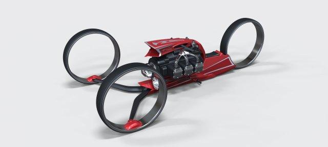 Trike concept 2 3D Model