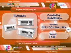 Shop 02 3D Model