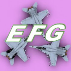 F18 Collection 3D Model