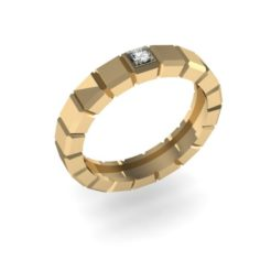 Fashion ring 3D Model