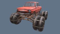 Zaporozhec ZAZ 968M 4K 3D Model