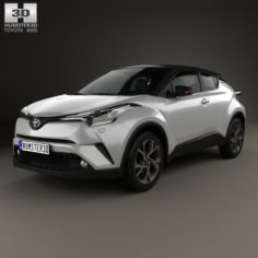Toyota C-HR 2017 3D Model
