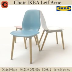 Chair leif Arne IKEA 3D Model