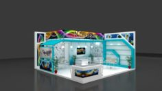 Exhibition stall Free 3D Model