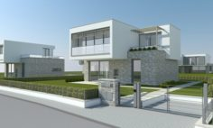Modern Villa – Single Family 3D Model