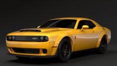 Hennessey Dodge Challenger SRT Demon 2019 3D Model