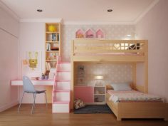 Children bedroom 3D Model