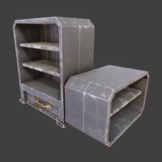 PBR – Shelf Set 1 3D Model