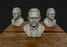Mike Pence 3D Sculpture 3D Model
