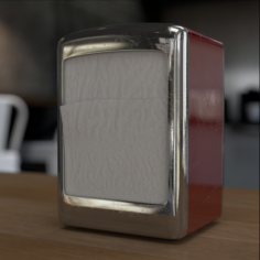 Napkin dispenser 3D Model